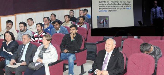 Belediye Çalışanlarına İSG Semineri