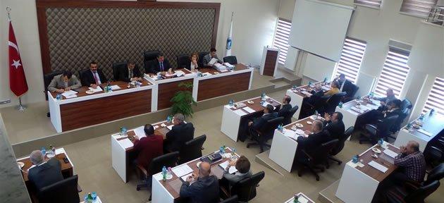 Belediye Meclisi Yeni Salonda Toplandı