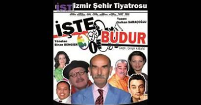 Tiyatro gösterisi ERTELENDİ