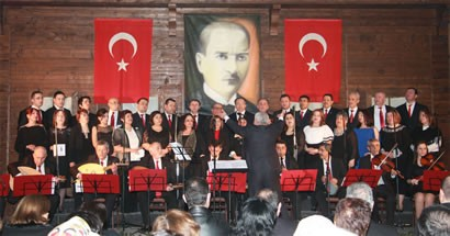 Belediyes Korosu'ndan TSM konseri