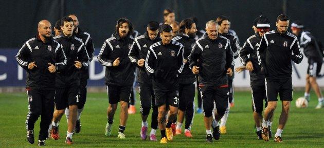 Beşiktaş, Partizan Maçına Hazır