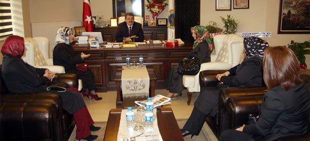 Beydader'den Başkan'a ziyaret