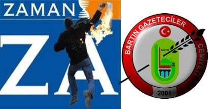 BGD, Zaman'a yapılan molotoflu saldırıyı kınadı