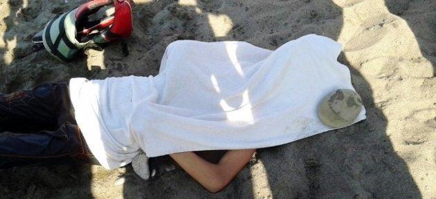 Boğulan Gencin Cesedi Bir Gün Sonra Bulundu