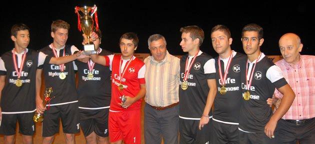 Büyüklerde Alkolik Bilbao şampiyon