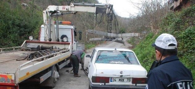 Çalınan Otomobil Ereğli'de Bulundu