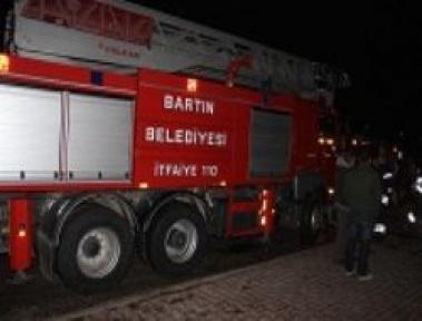 Çatmaca PTT'de yangın