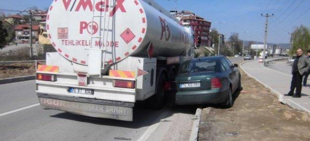 Çatmaca'daki kaza korkuttu