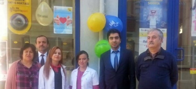 Çaycuma'da Organ Bağışı İçin Stant Kuruldu
