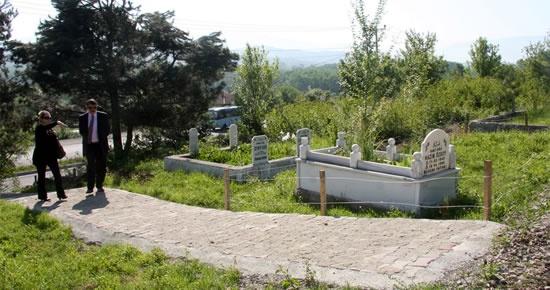 Çaydüzü Mezarlığı düzenleniyor