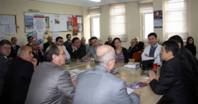 Cemal Akın Fatih İlköğretim Okulu'nu ziyaret etti