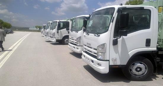 Çevre ve Şehircilik Bakanlığı'ndan 7 çöp kamyonu