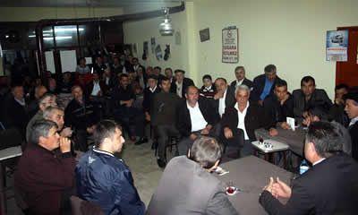 CHP adayı genel seçim çalışmalarına devam ediyor