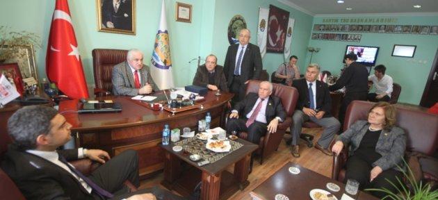 CHP heyetinden TSO'ya ziyaret