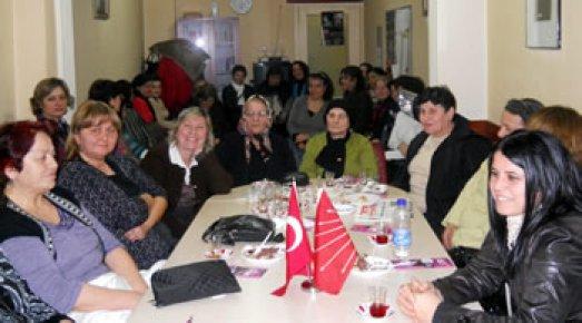 CHP Kadın Kolları seçim startı verdi