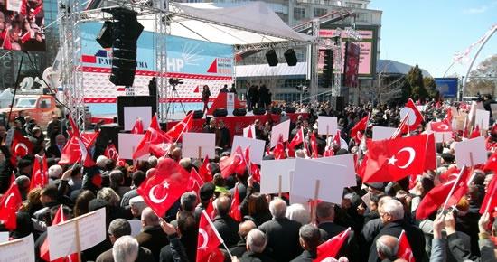 CHP Kadın Kolları Tandoğan'da