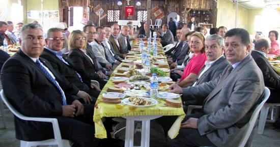 CHP, Kozcağız'da buluştu