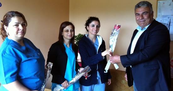 CHP'den Hemşireler günü ziyaretleri