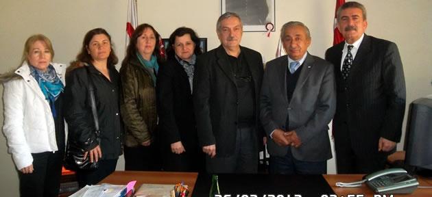 CHP'den Kızılay'a ziyaret