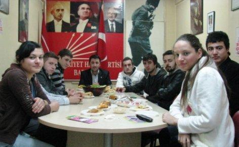 CHP'li Gençler seçim çalışmalarına başladı