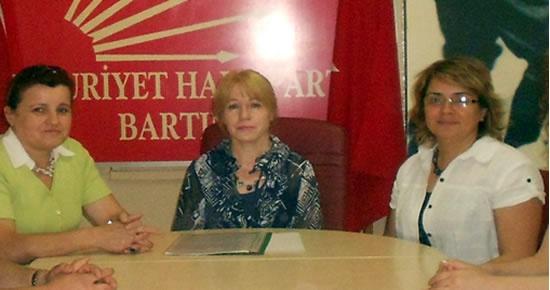 CHP'li kadınlar kongre hakkı kazandı