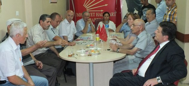 CHP'liler bayramlarını kutladı