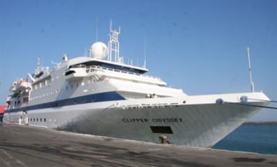 CLIPPER ODYSSEY Bartın Limanı'na demir attı