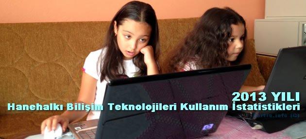 Çocuklar interneti daha fazla kullanıyor
