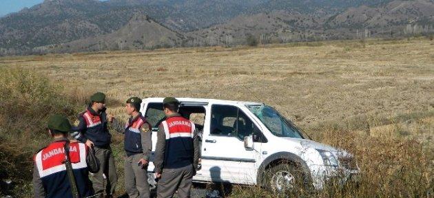 Çorum'da Otomobil Çeltik Tarlasına Uçtu: 3 Yaralı