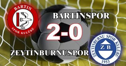 Değişim Bartınspor'a yaradı: 2-0