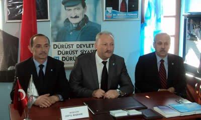 DSP adaylarını tanıttı