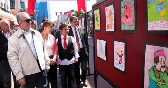 Ebru sergisi ve Can Adıyaman sergisi açıldı