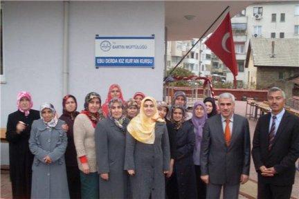 Ebu Derda Kız Kuran Kursu Yeni Binasında