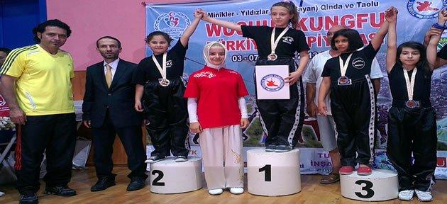 Ece Kurt Türkiye Şampiyonu