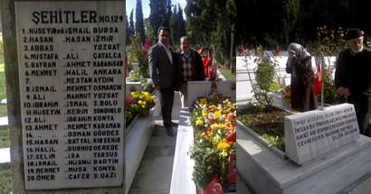 Edirnekapı Şehitliği'ne ziyaret