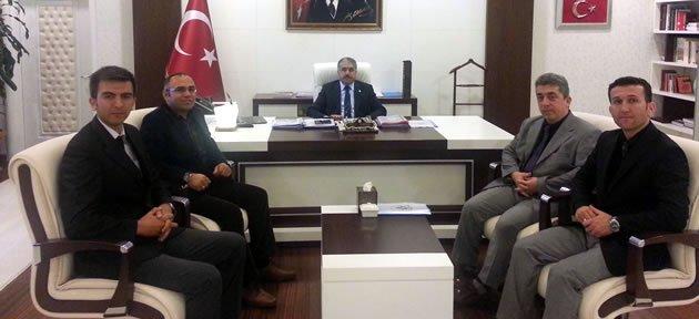 Eğitimcilerden Vali Çınar'a Ziyaret