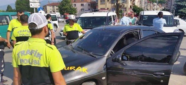 Ehliyetsiz Sürücü Ortalığı Birbirine Kattı