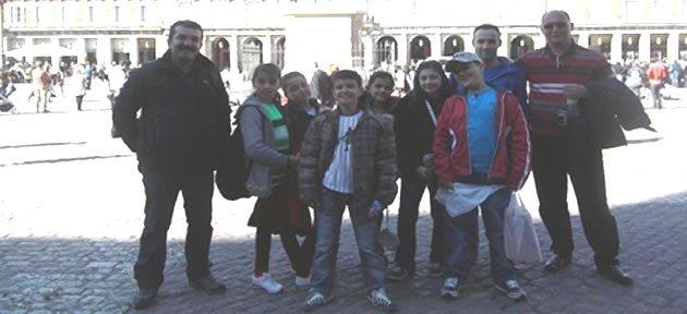 Ellibaş Ortaokulu İspanya'da