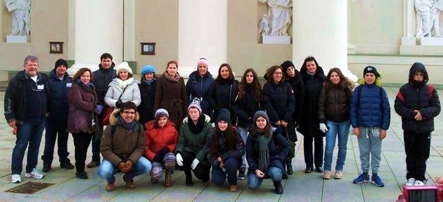 Ellibaş Ortaokulu Litvanya'da