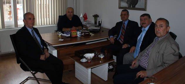 Emeklilerden Timur'a Ziyaret