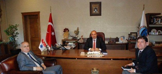 Emniyet Müdürü Yoldan'dan Arslan'a Ziyaret