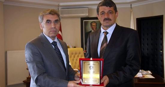 Emniyet Müdürü'nden başkan Akın'a teşekkür