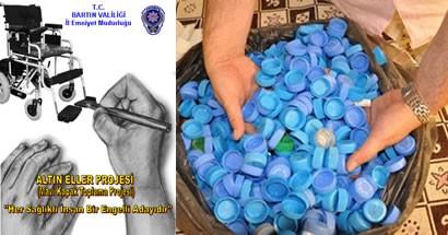 Emniyet'ten Mavi Kapak Altın Eller Projesi