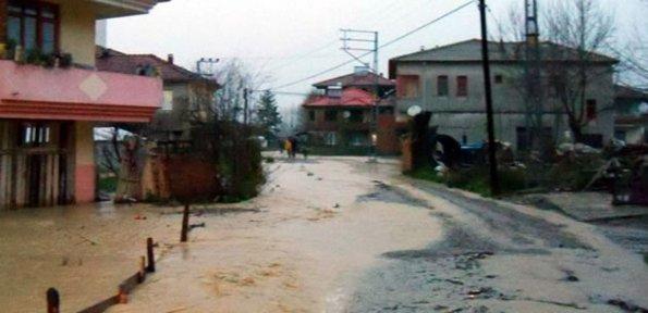 Epçiler Köyü sular altında