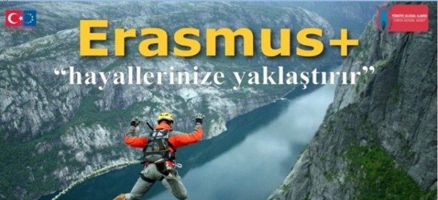 Erasmus'dan Projeye Katılım Çağrısı
