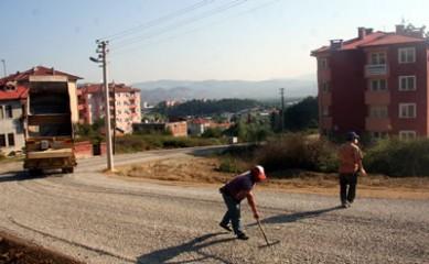Esentepe'de asfaltsız yol kalmıyor