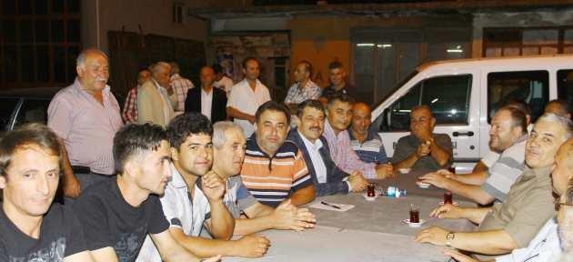 Etkinlikler Çaydüzü'nde, Başkan Vatandaşlarla