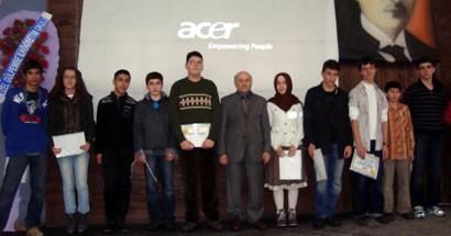 FEM'den İlk Adım Sınavında başarılı olan 72 öğrenciye ödül