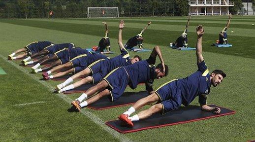Fenerbahçe Düzce'ye Geldi