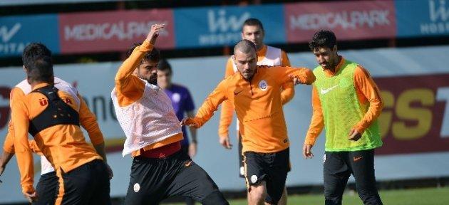 Galatasaray, Kardemir Karabükspor Maçının Hazırlıklarını Sürdürdü